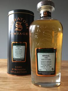 Imperial 1995 - 20 years old - Cask #50238