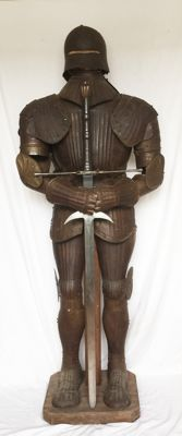 19 th century Renaissance revival armour