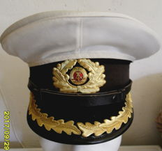 Superb cap from Navy NVA + cap of German Cavalry officer