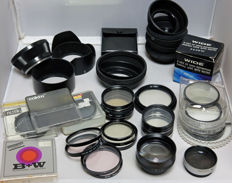 B&W filters and more, lens hoods, Cokin, converters