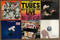 "Tubes: lot of six lp's incl. one 2lp ""Now"" ""What do you want from live"" ""Remote control"" ""The completion backward principle"" ""T.R.A.S.H."" ""Outside inside"""