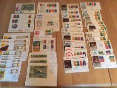 Federal Republic of Germany and Berlin – collection of FDC's and blocks