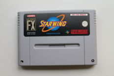 SNES Starwing Competition Edition PAL Version - Rare