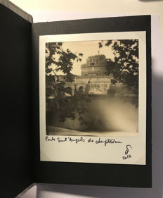 Emanuele Cucuzza - PolaBook with 16 polaroids: Side A: the most interesting Bridges in Rome / Side b: Mixed Photos of Rome - 2017