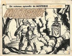 Tarquinio, Sergio - original cover for Misterix (1949)
