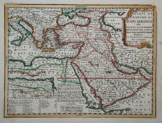 Middle East; Jacques Chiquet  - Estats de l'Empire du Grand Seigneur - 1719