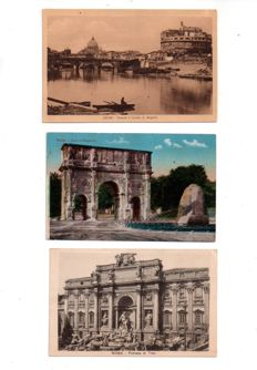 Europe: batch of 146 old and semi-modern postcards