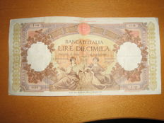 Italy - 2 banknotes of 10,000 lire, Maritime Republics