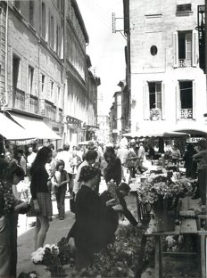 France - Batch of 58 photographs from 1974 and 75 of the departments of the Vaucluse, Bouches du Rhône et Gard - old silver prints