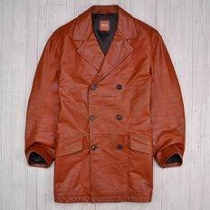 Hugo Boss Orange - Jame Cow Leather Coat