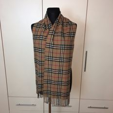 Burberry - 100% Lambswool Long Scarf – 1.9 m long!