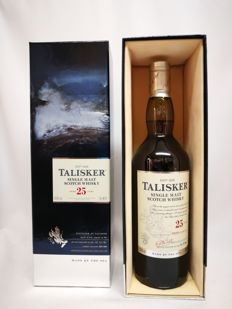 Talisker 25 years old 2017 release 45.8% abv. bottle 09255 of 21498