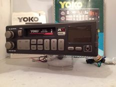 New classic Yoko YR-110 g classic car radio from the 80s/90s Volkswagen/Ford/Opel/Mercedes/Peugot/Renault - ETC.    (New)