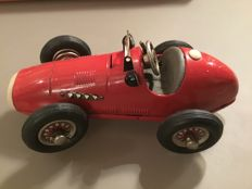 Schuco, US Zone Germany - Length 14 cm - Tin Grand Prix Racer 1075 with clockwork motor, 1950s