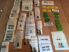 Berlin – batch with 2030 blocks and 40 stamp booklets