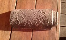 Special rare decorated steel roof tile - China - Ming period (1368–1644)