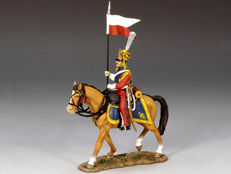 King and country - Napoleonics -NA159 Dutch Lancer walking horse A