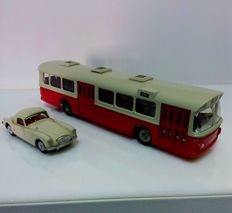 Tekno-DK - Scale 1/43-1/50m - Scania CR 76 and MG-A