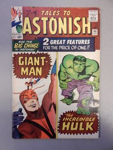 Marvel Comics - Tales of Astonish #60 - with Incredible Hulk - 1x sc - (1964)
