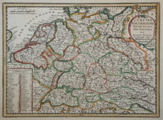Germany, the Netherlands; Jacques Chiquet  - L'Empire d'Allemagne - 1719