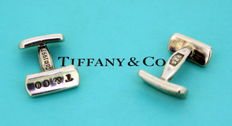 "Tiffany & Co - ""1837"" Collection Sterling Silver Cufflinks, 1997"
