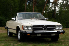 Mercedes-Benz - 450 SL convertible - 1979