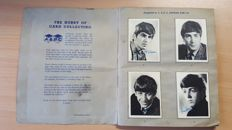 Beatles - Very rare complete collection of 60 original A & B C chewing gum cards series 1 from 1964 in original album.