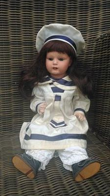 Beautiful celluloid doll