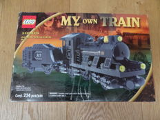 Trains 9V - 10205 - Locomotive, Large Train Engine with Tender
