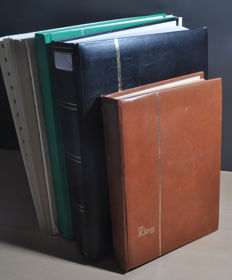Germany 1950/1980 - stock of  Berlin in stock books and sheets.