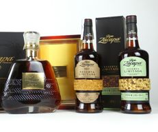 Zacapa XO old version + Zacapa 2014 + Zacapa 2013