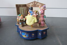 Disney, Walt - Music box with light and movement - Classic Masterpiece Collection - Snow White and the Seven Dwarfs (1990s)