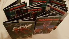 Marvel Comics - Shadowland - Hardcovers (hc) - 7x - Daredevil - Street Heroes - Powerman - Moon knight - Thunderbolts - Shadowland - Blood on the Streets
