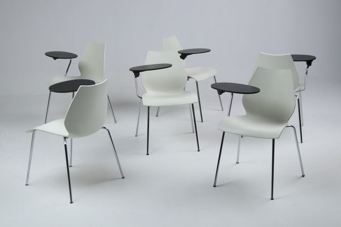 Vico Magistretti For Kartell U2013 Set Of 6 Chairs U0027MAUIu0027