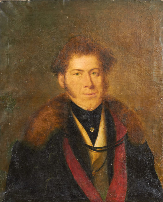 French school (18th/19th c.) - Portrait of a man