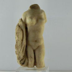 Torso of a Venus from marble with base 130 mm without base 89 mm