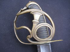 French hunting sabre for troops 1791