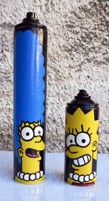 Mr. Funky - I Love Streetart ! Marge.