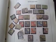 Netherlands Overseas and Indonesia - collection in Davo album