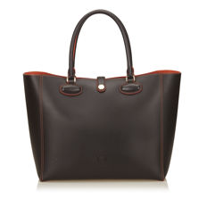 Loewe - Leather Leo Tote bag