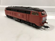 Fleischmann H0 - Diesel locomotive DB 218 350-7 with lighting