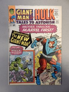 Marvel Comics - Tales of Astonish #65 - with New Costume for Giant-Man - 1x sc - (1965)