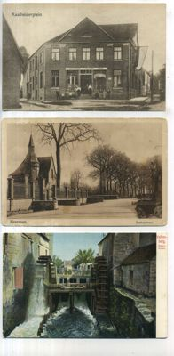 The Dutch province of Zuid-Limburg, views of towns and villages, from 1900 up to 1960s, 99x