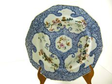 Incredible Famille Rose Plate - China - 18th century