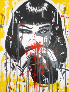 Freda People Art - Mia Wallace