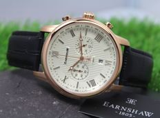 Thomas Earnshaw - Mens Gold Plated - Chronograph Watch - New & Mint Condition