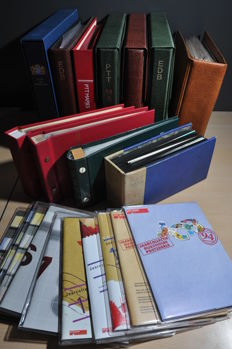 Netherlands - Batch of year sets, stamp booklets, EDB and FDCs