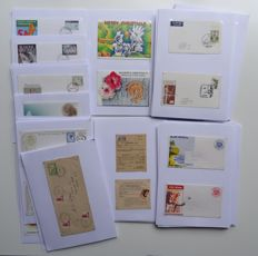 Papua New Guinea 1963/1997 - Collection of over 200 postal items, in a specialized way