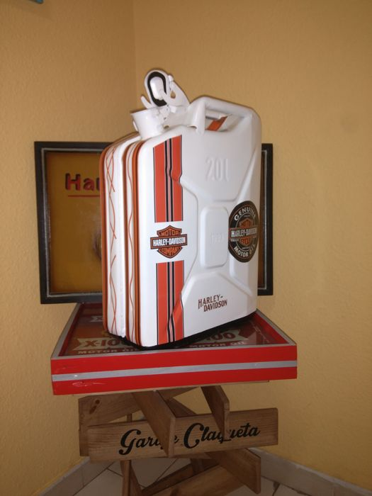 JERRY CAN 20 L Decoration HARLEY-DAVIDSON. 21st century.