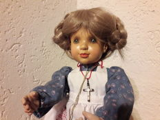 Sarah Kay wood doll Katherine by Anri Made in Italy